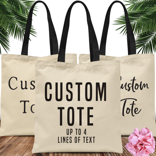 Design Your Own: Custom Tote Bag