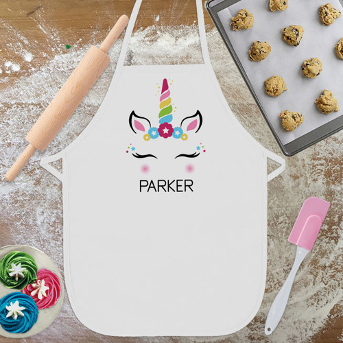 Personalized Kids Aprons Toddler Baking Apron