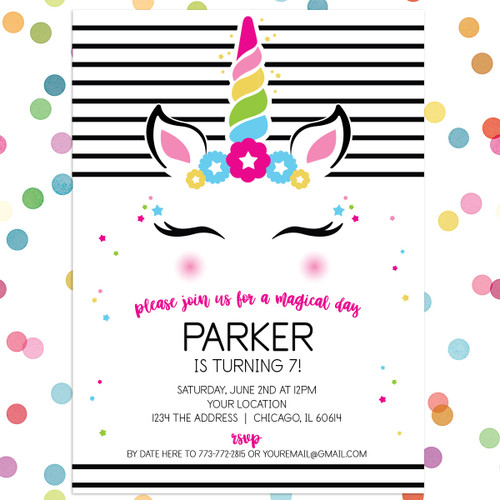 kids birthday party invitations personalized invitations