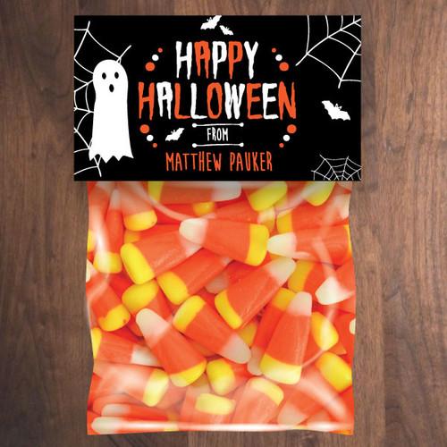 Personalized Happy Halloween Mini Favor Bag Kit
