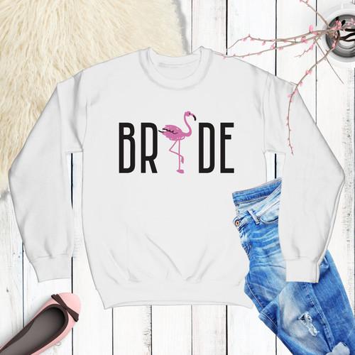 Flamingo Bride/Bride Tribe Sweatshirt