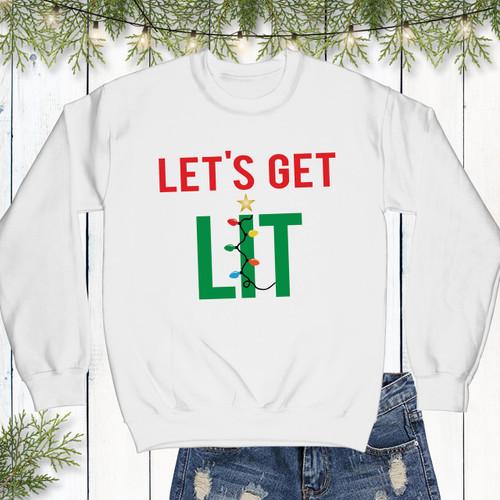 Let's Get Lit Sweatshirt