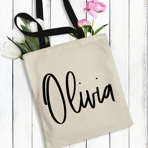 The Brooklyn Tote Bag - Personalized Women's Tote Bag
