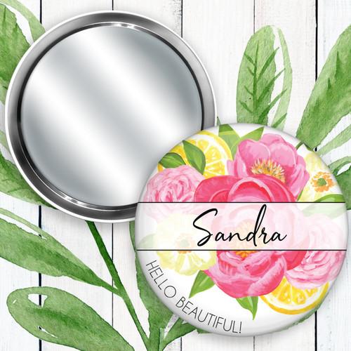 Personalized Summer Breeze Pocket Mirror