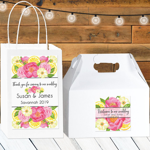 Personalized Wedding Favors: Summer Breeze