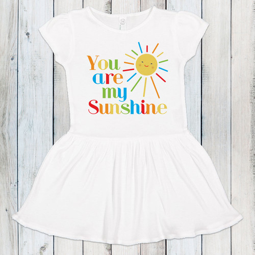 You Are My Sunshine Rainbow Dress