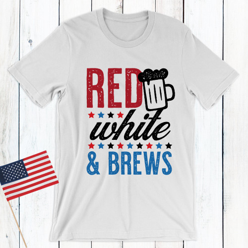 Red White and Brews Shirt
