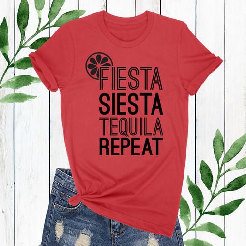 Fiesta Siesta Racerback T-Shirt (More Colors!)
