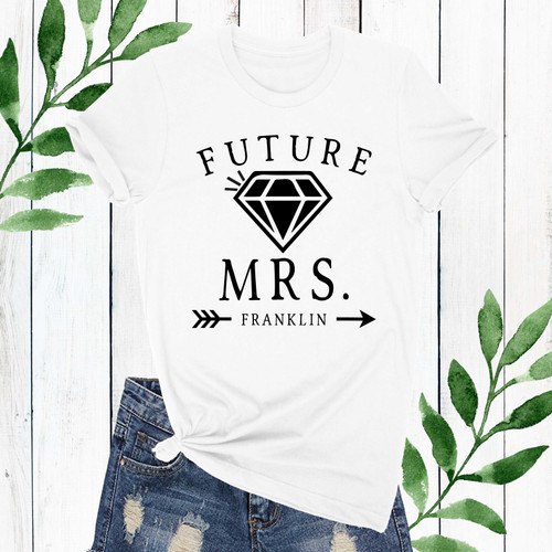 Personalized Future Mrs. Shirt