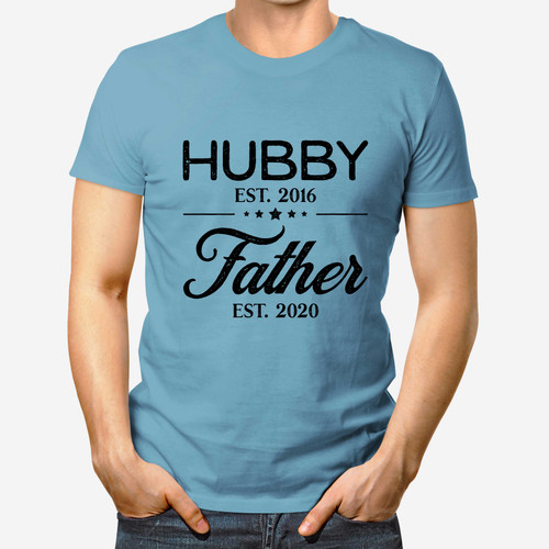 Husband Est. and Father Est. Dad Shirt