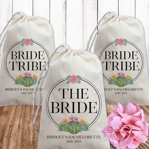 Shop for Succulent Bridal Party Shower Favor Bags