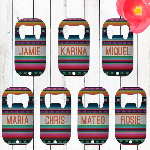 Mexico Fiesta Custom Bottle Openers