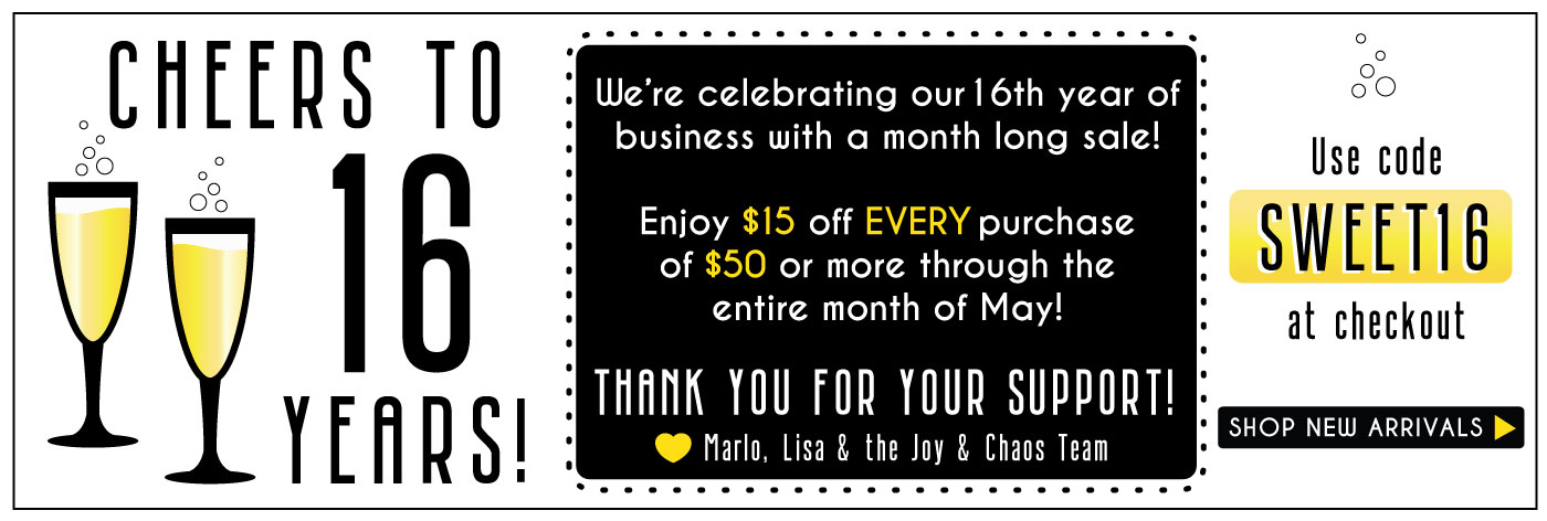 Joy & Chaos Personalized Gifts