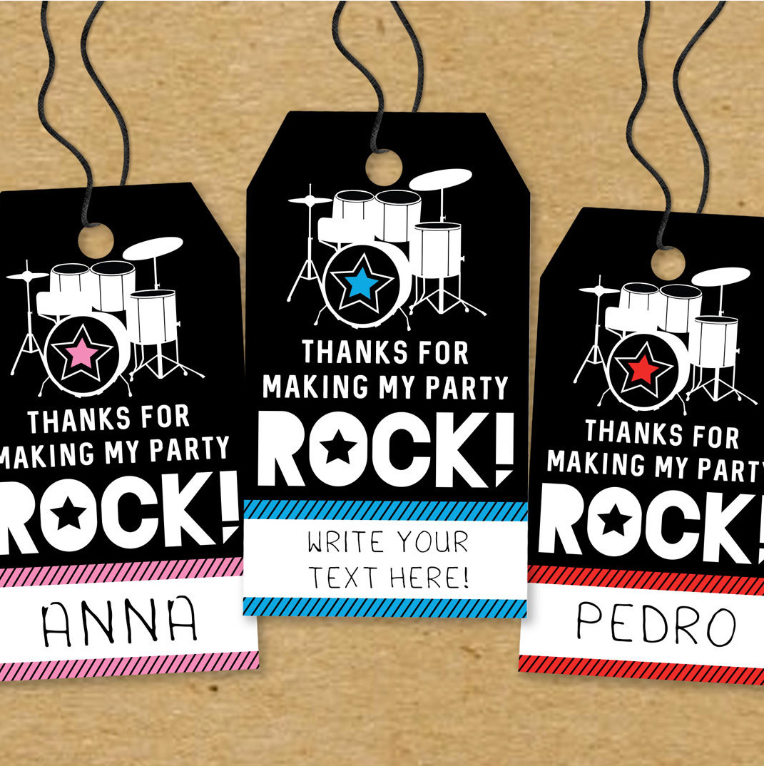 Printable Favor Tags