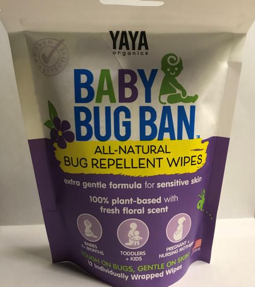 Baby Bug Ban Wipes