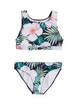 Roxy Girls Peachy Vibes Crop Top Bikini Set