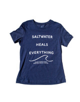 Island Water Sports Saltwater Heals Everything Relaxed S/S Tee