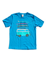 Island Water Sports Traveling Bus S/S Youth Tee