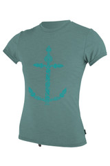 O'Neill Girls Hybrid SS Sun Shirt