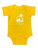 Island Water Sports Script Baby Onesie
