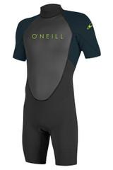 O Neill Reactor-2 2mm Back Zip Boys Springsuit