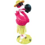 KC Hawaii Hula Flamingo Dashboard Doll