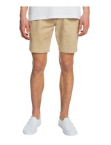 """Quiksilver Washed Twill Natural Dye 19"""" Chino Short"""