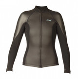 Xcel Axis Smoothskin 2/1mm L/S Front Zip Womens Wetsuit Jacket
