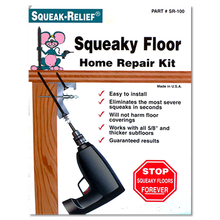 Squeak-Relief Floor Repair Kit