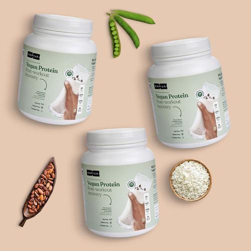 Vegan Protein Cookies & Cream - (Pack of 3)