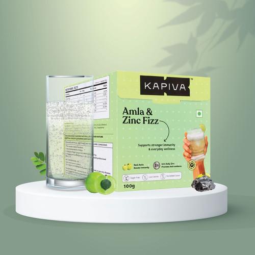 Kapiva Amla & Zinc Fizz Effervescent Powder