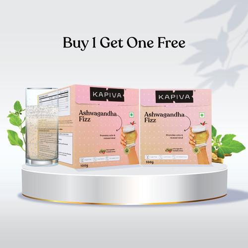 Ashwagandha Fizz Effervescent Powder (Buy 1 Get 1 Free)