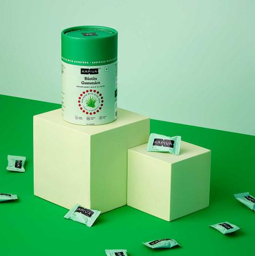 Biotin with Aloe Vera Gummies – 30 gummies