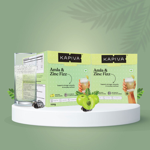 Amla & Zinc Fizz Effervescent Powder (Buy 1 Get 1 Free)
