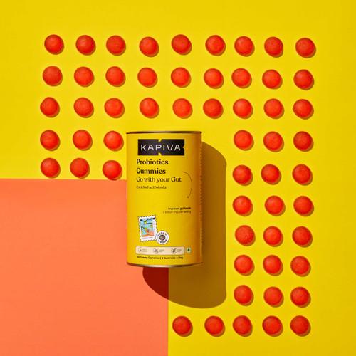 Probiotic With Amla Gummies - 60 Gummies