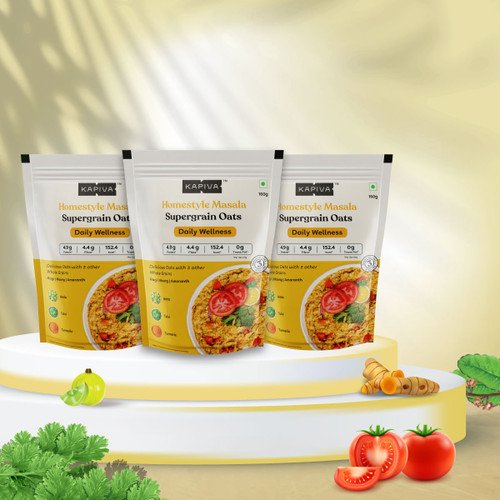 Homestyle Masala Supergrain Oats - Pack of 3