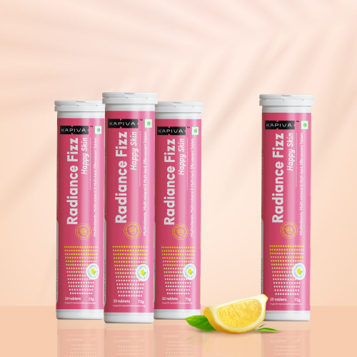 Skin Radiance Fizz   10-In-1 Skin Health Supplement   20 Effervescent Tablets   Minty Lemon Flavour (Buy 3 & Get 1 Free)