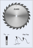 "S21300 12"" Rip Saw Blade (Heavy Duty) by FS Tool"