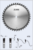 "S03250 10"" Cross Cut Saw Blade (ATB)"