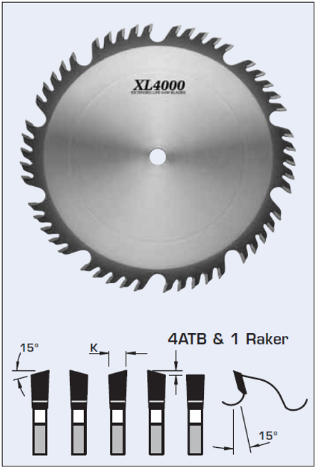 "S55250 10"" Combination/Planer Blade"