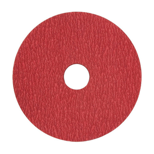 "XF870 5"" x 7/8 24 grit Ceramic Alumina Sanding Disc-VSM (100 pack)"