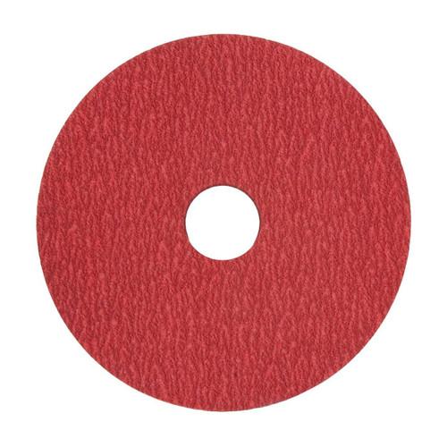 "XF870 5"" x 7/8 36 grit Ceramic Alumina Sanding Disc-VSM (100 pack)"