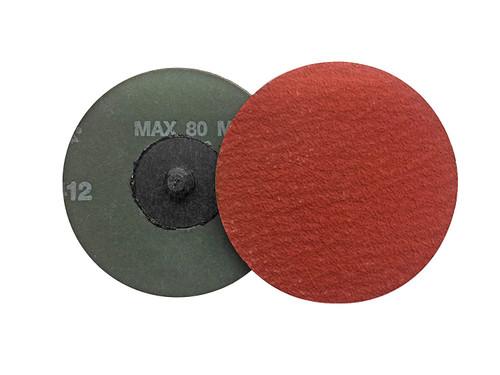 "XF885 2"" Quick Change (rolloc) Sanding Discs 80-100-120 grit"