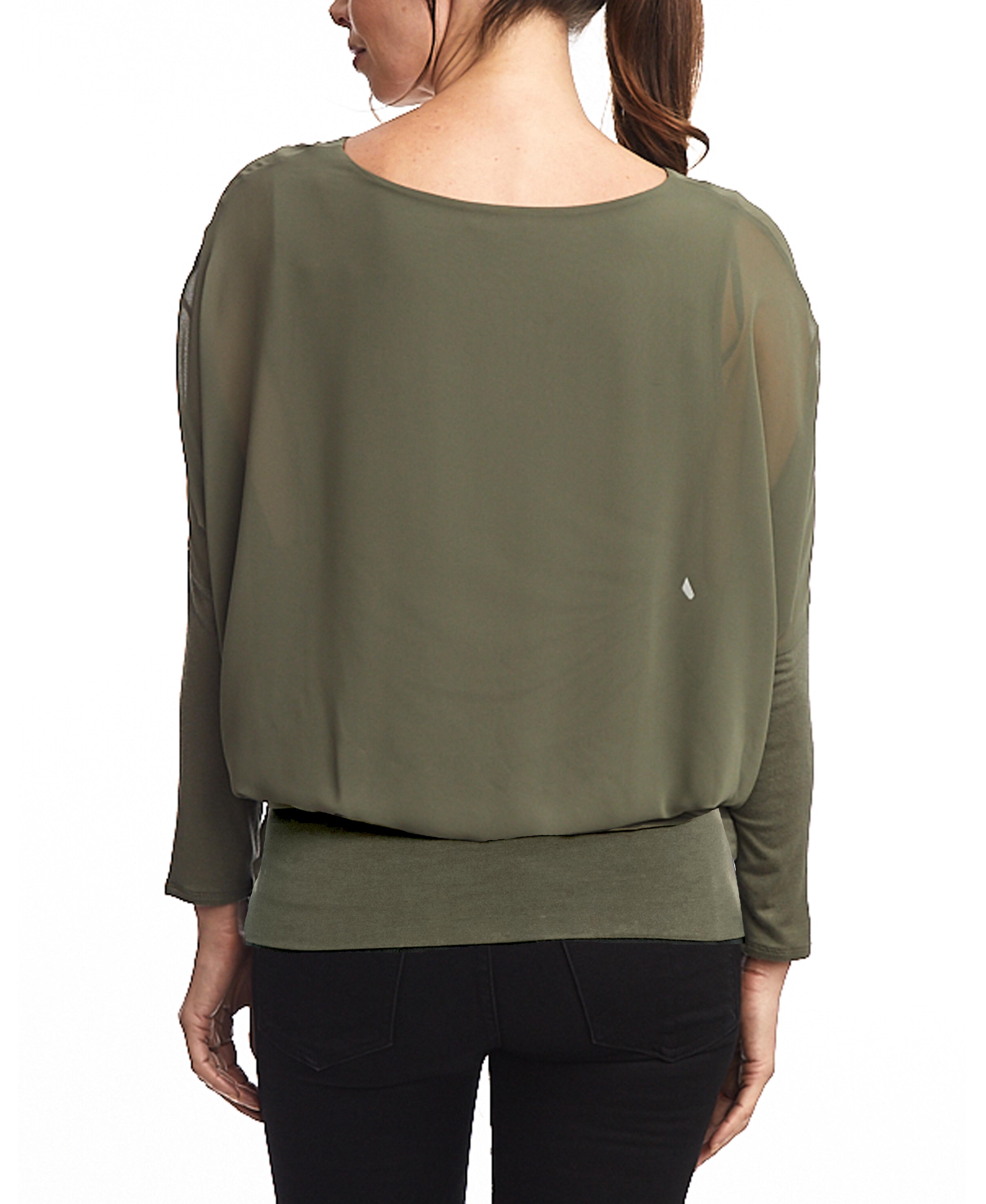 Dolman Long Sleeve in Tumbleweed