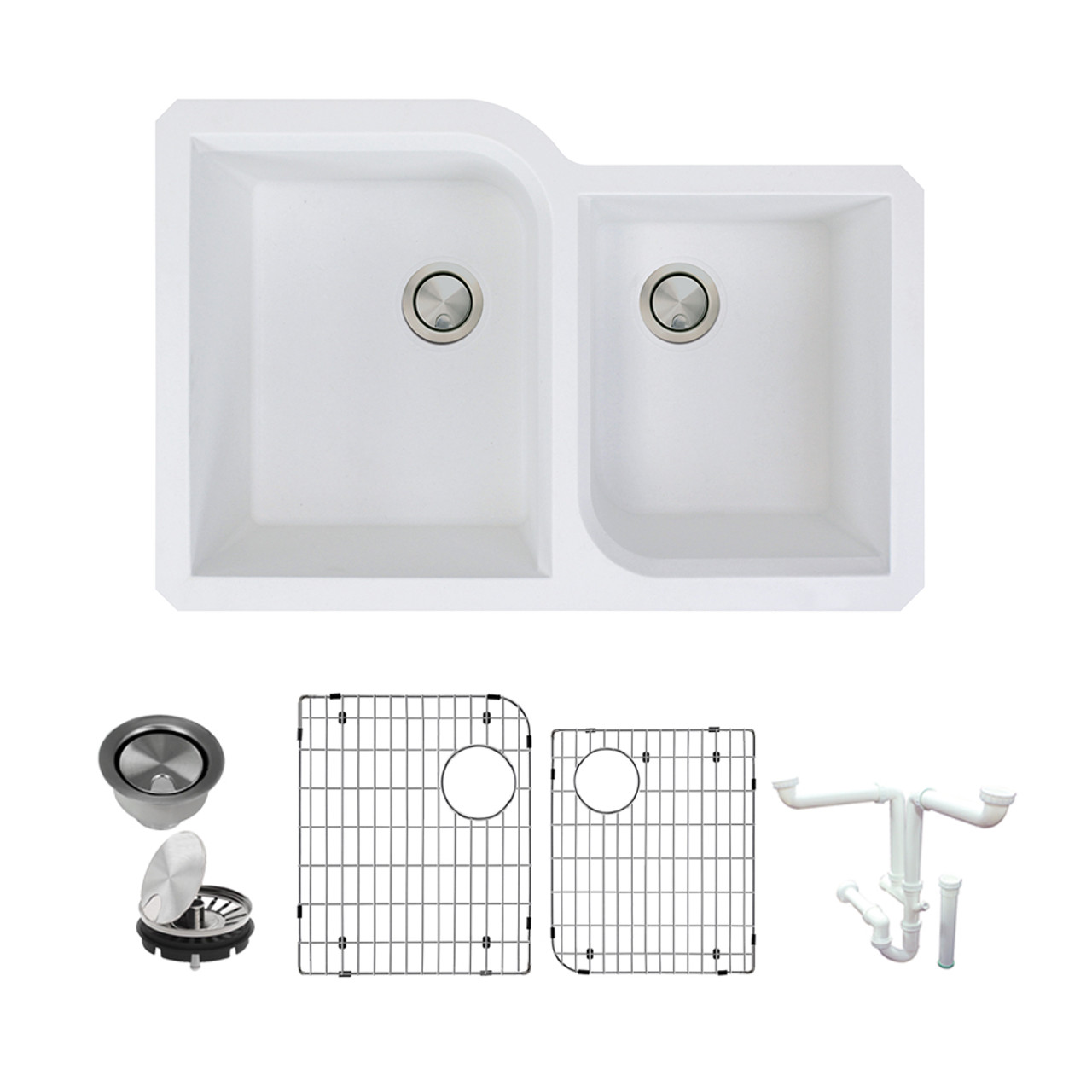 Transolid Radius Granite 31 In Undermount Kitchen Sink Kit With Grids Strainers And Drain Installation Kit In White In White K Rudo3120 01 Online Bath1 Com,Best Bedroom Air Purifier For Mold