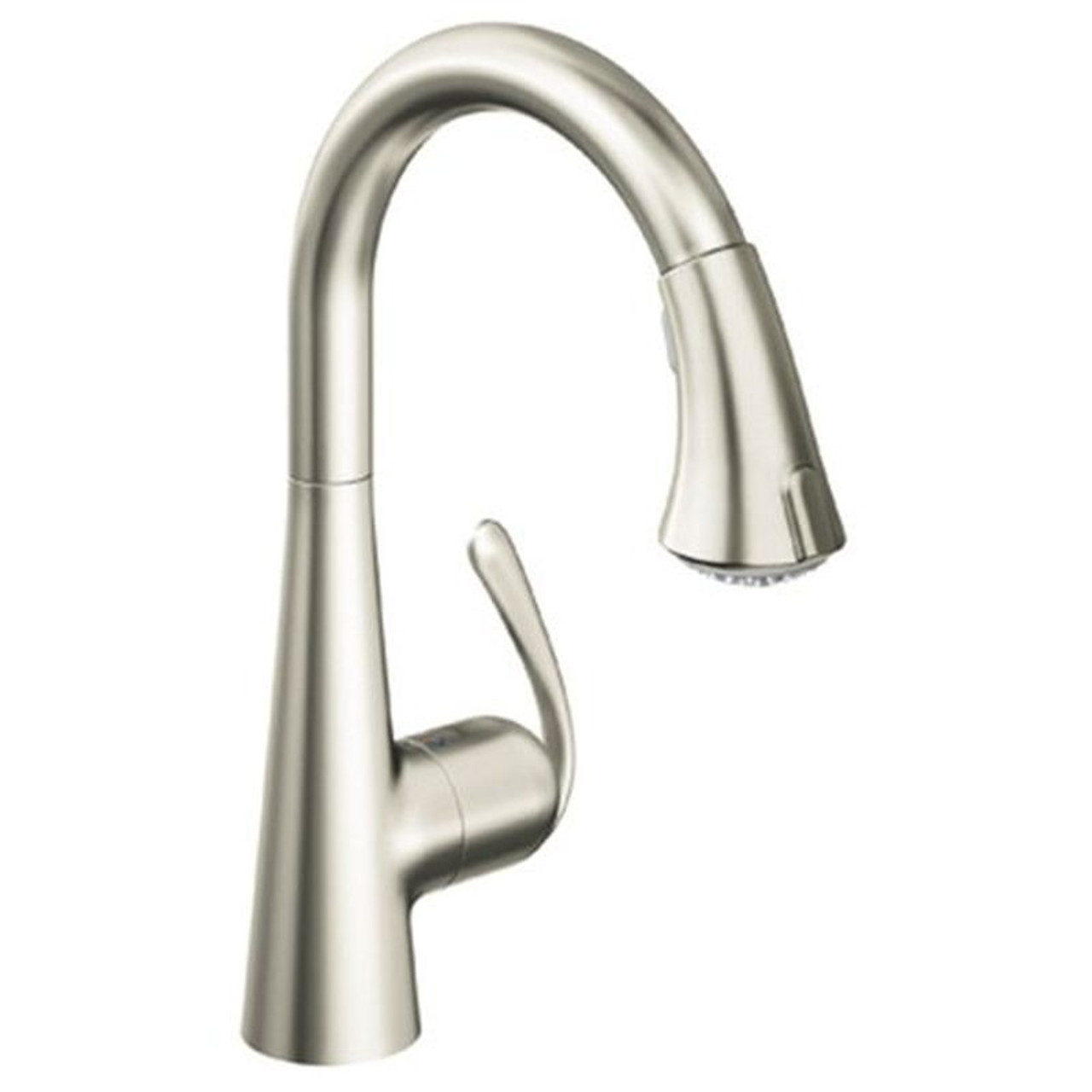 Grohe 32298DC1 LadyLux Single-Handle Kitchen Faucet With Pull-Out Sprayer