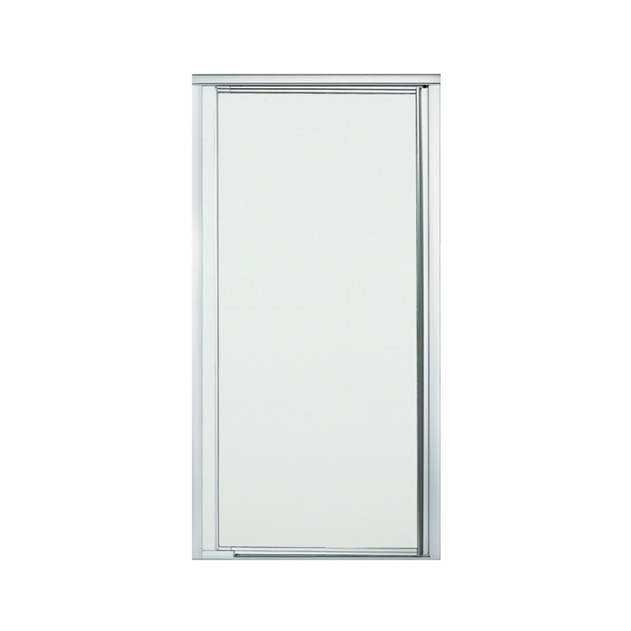 Sterling 1505d 36s G03 Vista Pivot Ii 31 1 4 In X 36 In Framed Alcove Shower Door With Frosted Glass