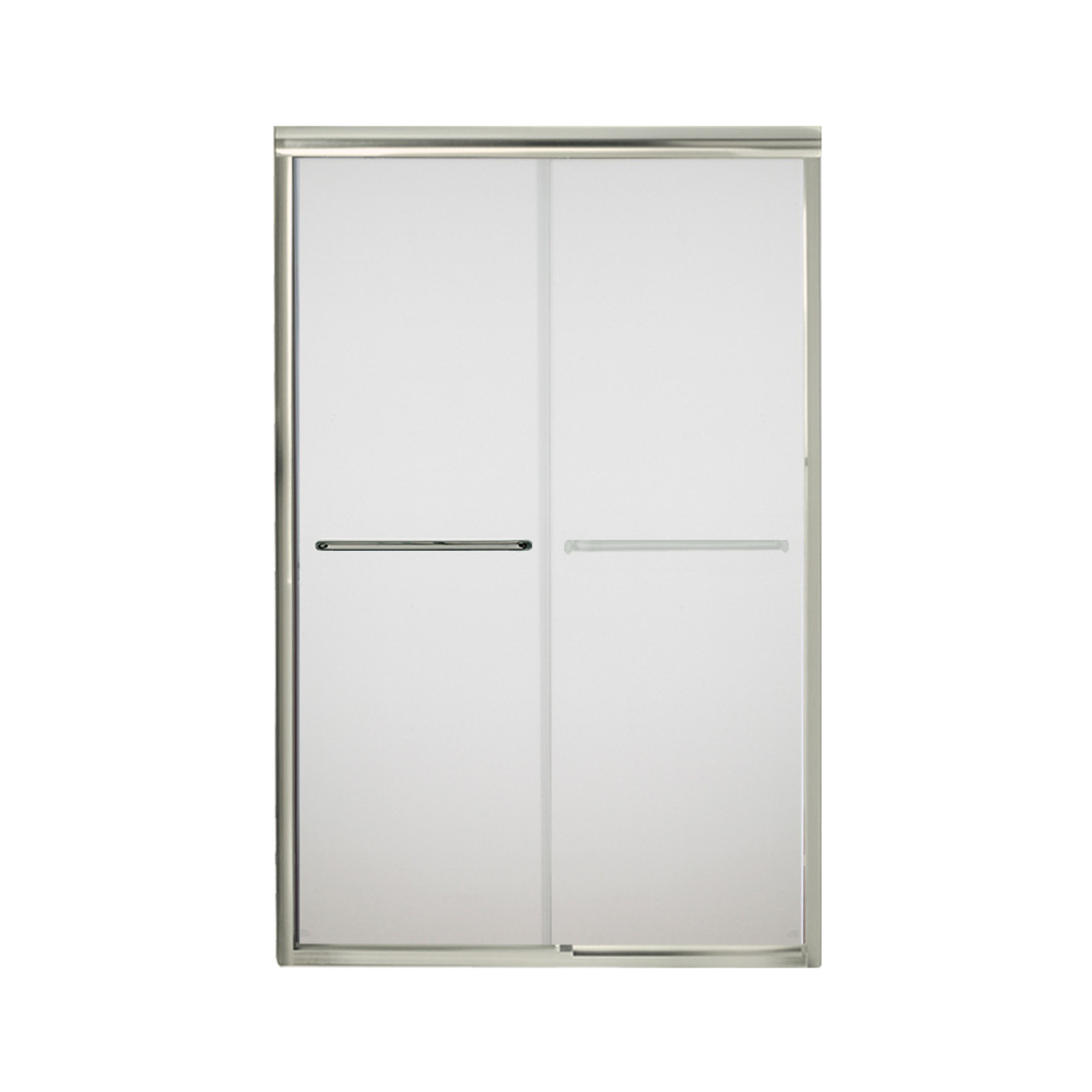 Sterling 5475 48n G03 Finesse 42 625 To 47 625 In X 70 0625 In Frameless Sliding Alcove Shower Door With Frosted Glass