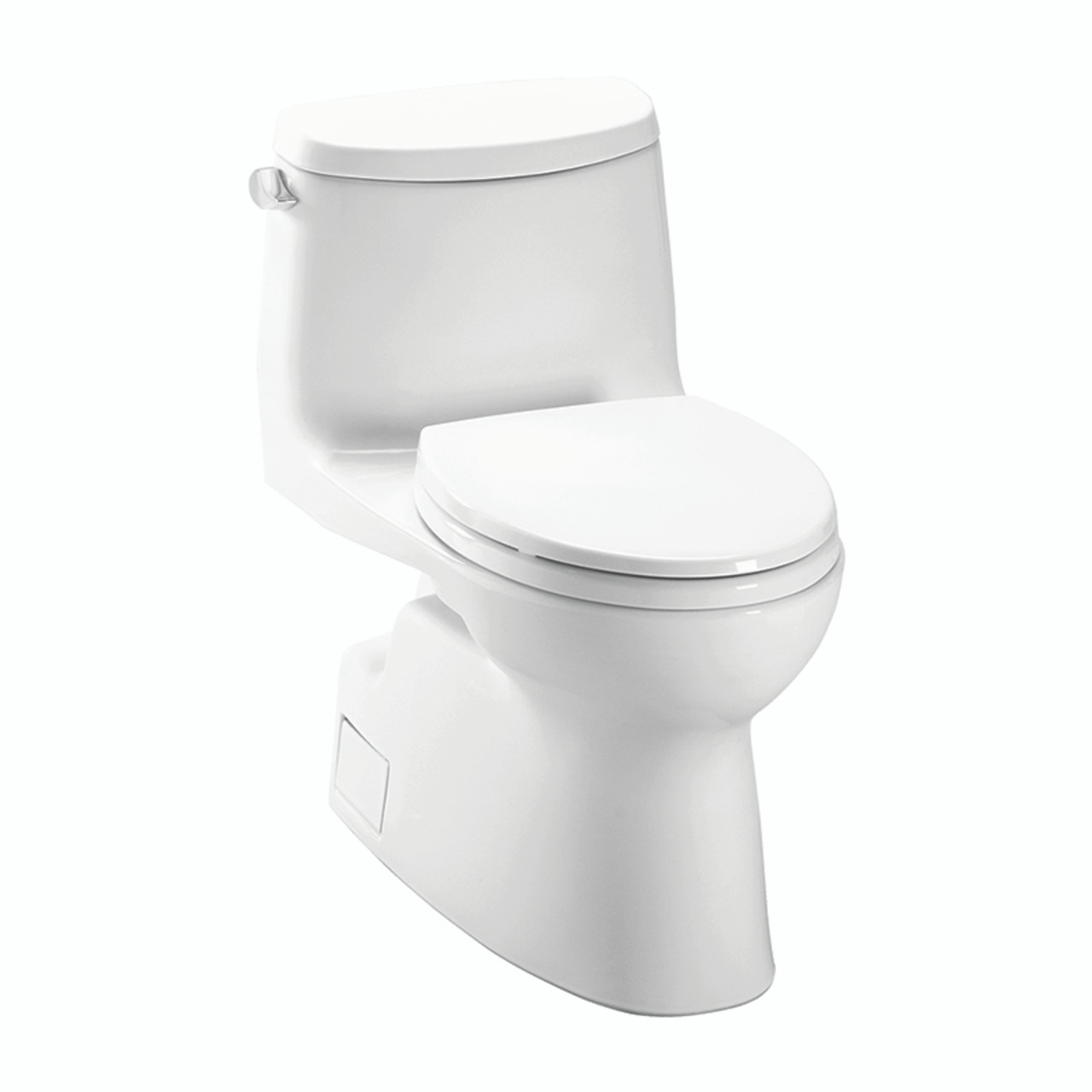 Stupendous Toto Ms614114Cefg01 Carlyle Ii 1 28 Gpf 1 Piece Elongated Toilet With Seat Beatyapartments Chair Design Images Beatyapartmentscom