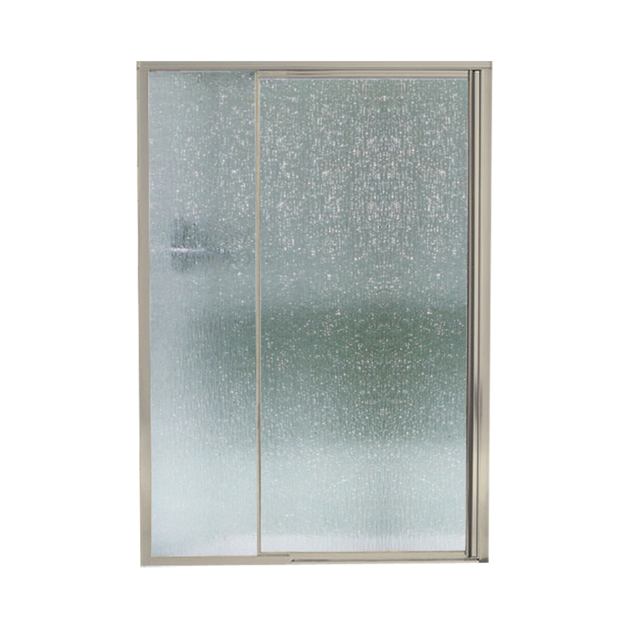 Sterling 1505d 48n G06 Vista Pivot Ii 42 In X 48 In Framed Alcove Shower Door With Rain Glass